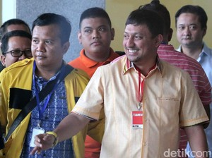 Fahd A Rafiq Ditahan, Pendukung Ricuh di KPK
