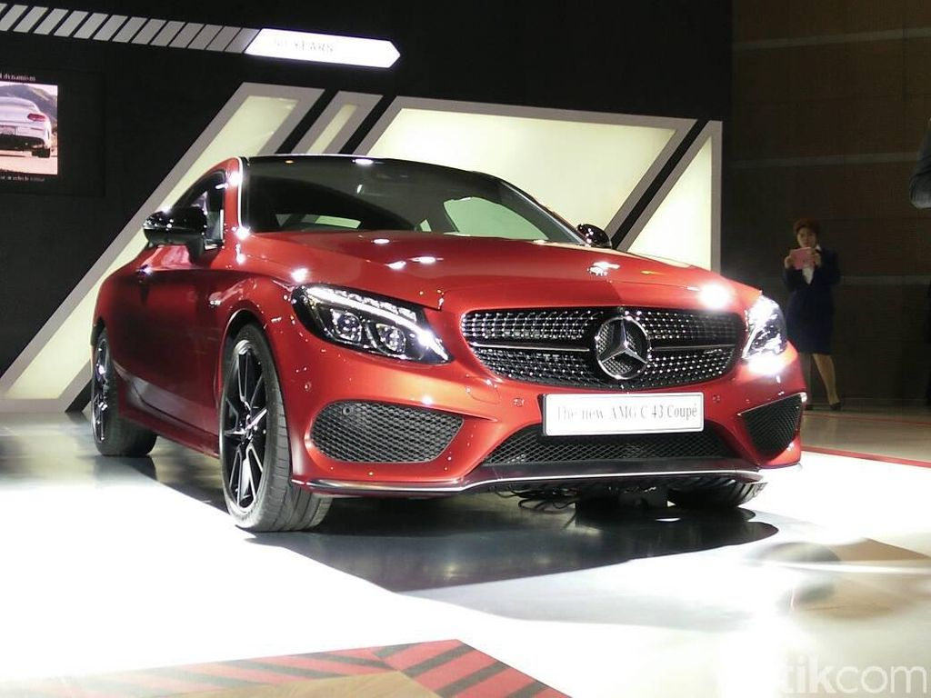 Mercedes-AMG C43 4MATIC Coupe, Keluarga Baru Mercy C-Class