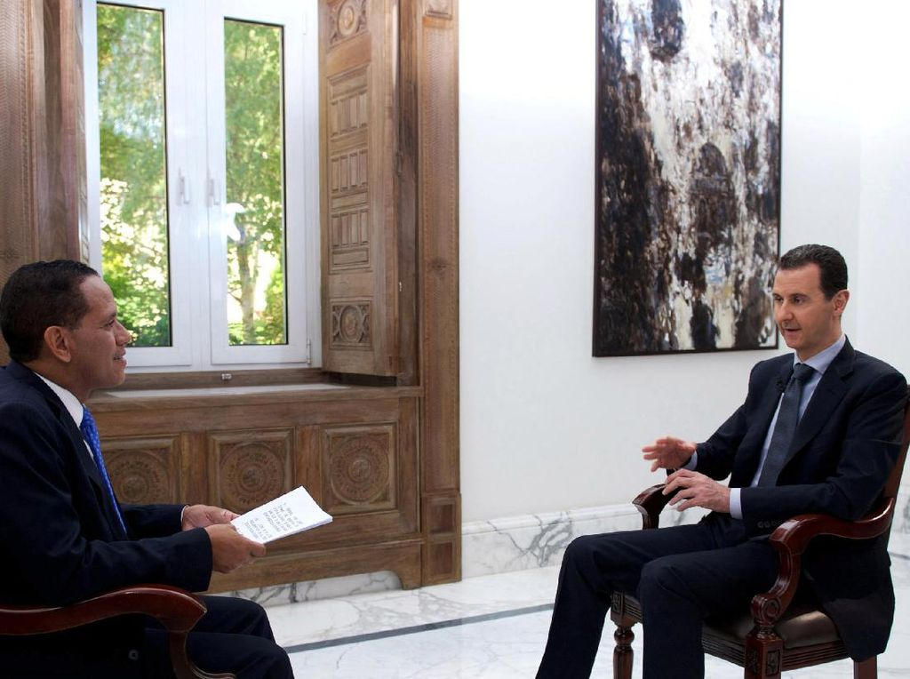 Komentari Konflik Suriah, Erdogan Sebut Presiden Assad Teroris