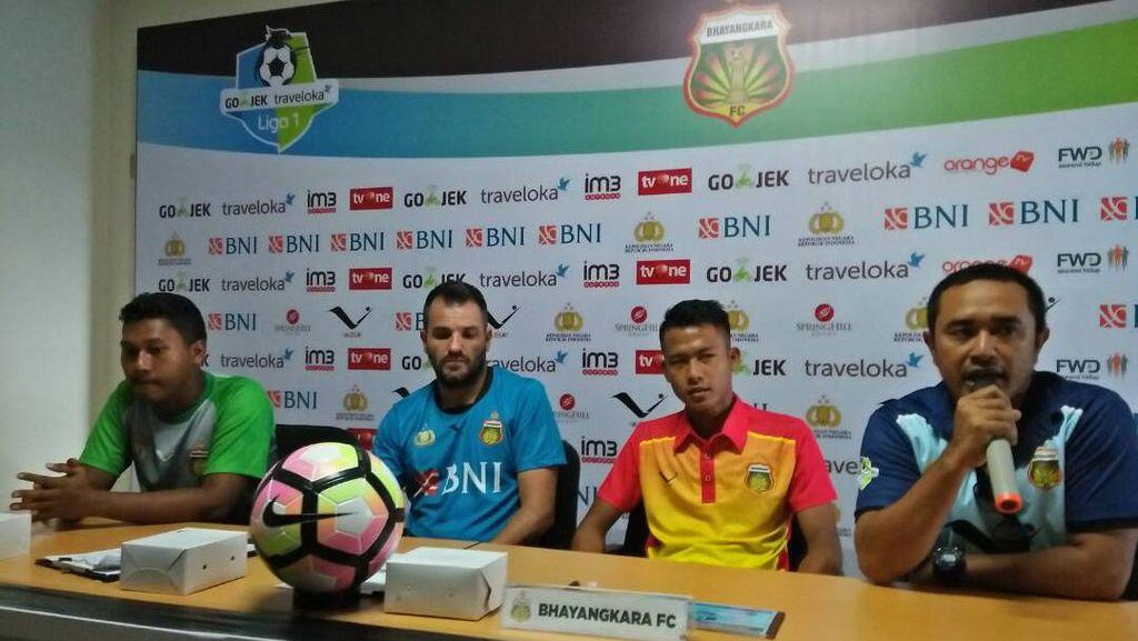 Hadapi PS TNI, Bhayangkara FC Belum Bisa Mainkan Marquee Player
