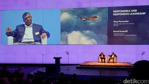 Soal Dunia Penerbangan, Indonesia Bisa Belajar dari Tony Fernandes