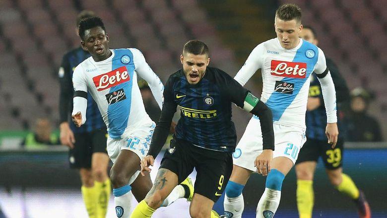Duel Seru Papan Atas Antara Napoli Vs Inter MIlan