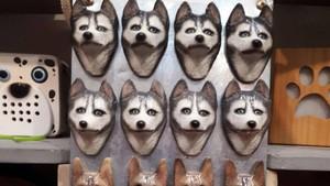 Pria Ini Bisnis Pernak-pernik Motif Anjing Beromzet Rp 150 Juta/Bulan