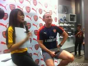 Ray Parlour yang Buta soal Sepakbola Indonesia