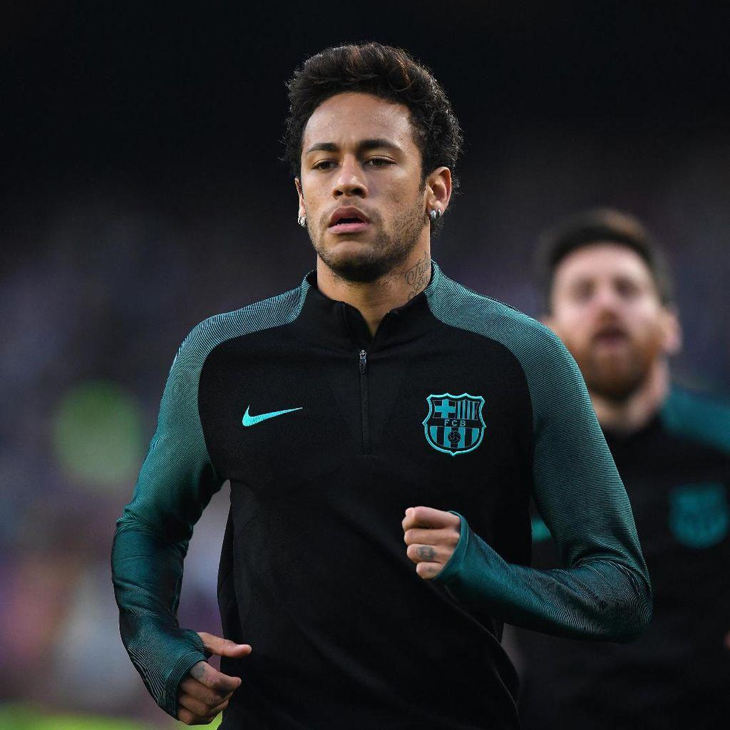 Neymar Bakal Main dengan Kepala Dingin Saat Melawan Espanyol