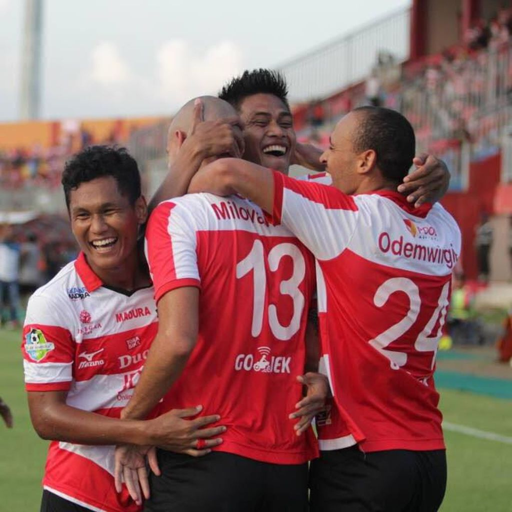 Madura United Segera Perbaiki Masalah Lini Belakang