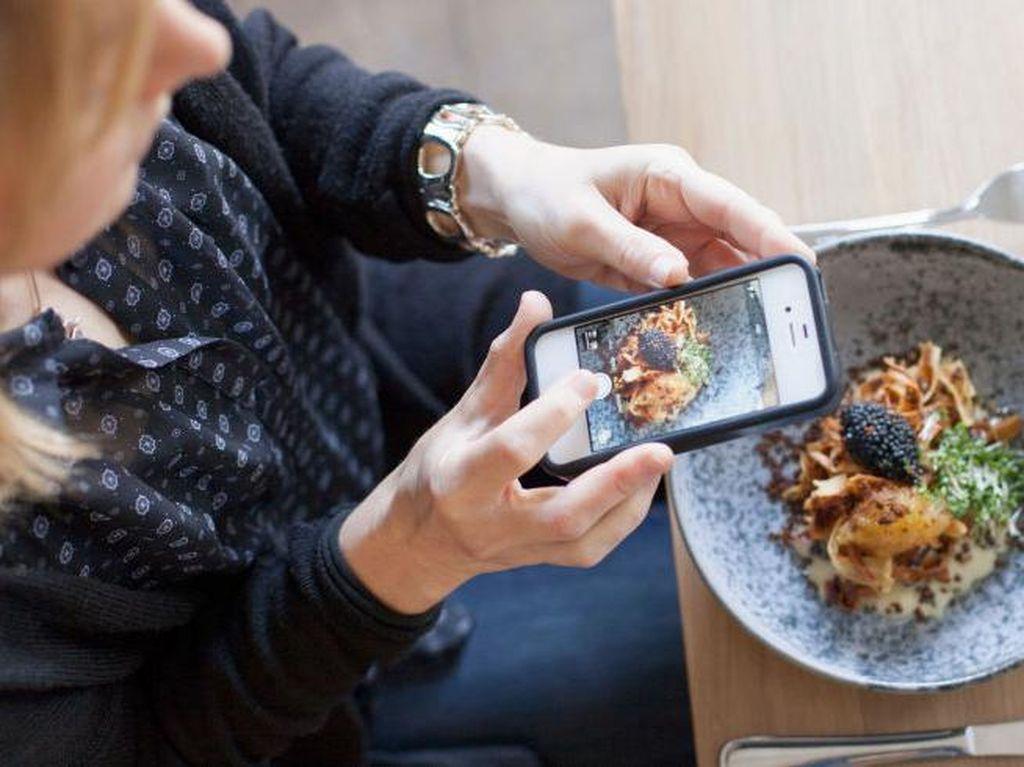 Unggah Foto Makanan di Instagram Bisa Membuat Orang Makan Lebih Sehat