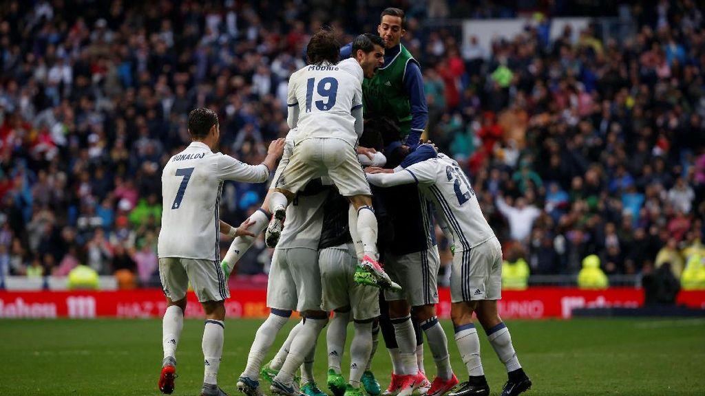 Lagi, Madrid Sukses Raih Poin dari Gol di 10 Menit Akhir