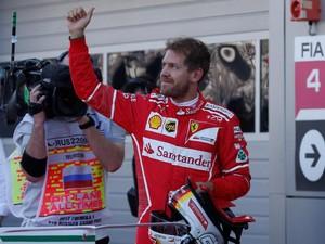 Akhiri Puasa <I>Pole</I>, Vettel: Rasanya Sudah Lama Sekali!