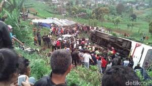 Polisi: Rem Piston Bus Maut di Ciloto Tidak Berfungsi Sama Sekali