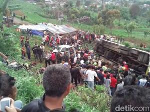 Polri akan Evaluasi PO Bus yang Terlibat Kecelakaan di Puncak