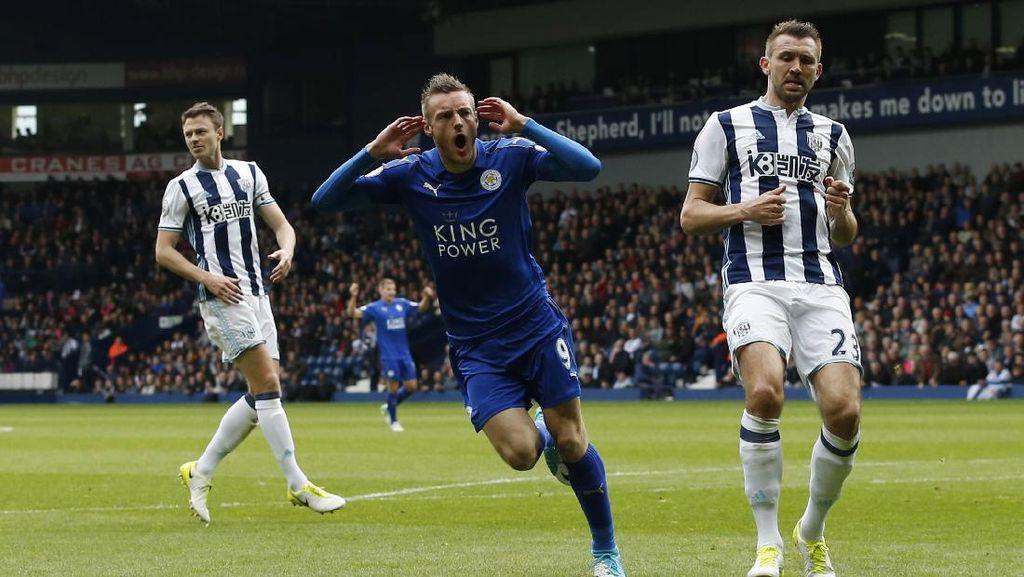 Leicester Sudah 40 Poin, Juga Bikin West Brom Masih Mandul