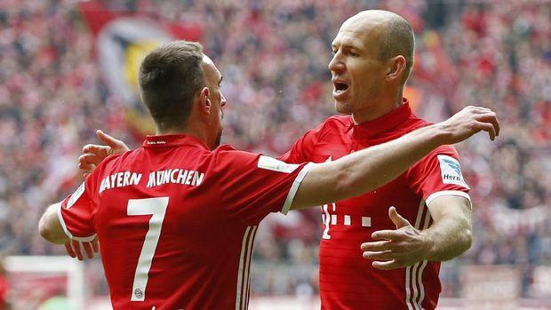 Pemain-Pemain Veteran di Balik Kesuksesan Bayern Musim Ini