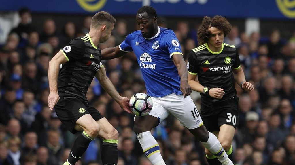 Belum Ada Gol di Laga Everton Lawan Chelsea