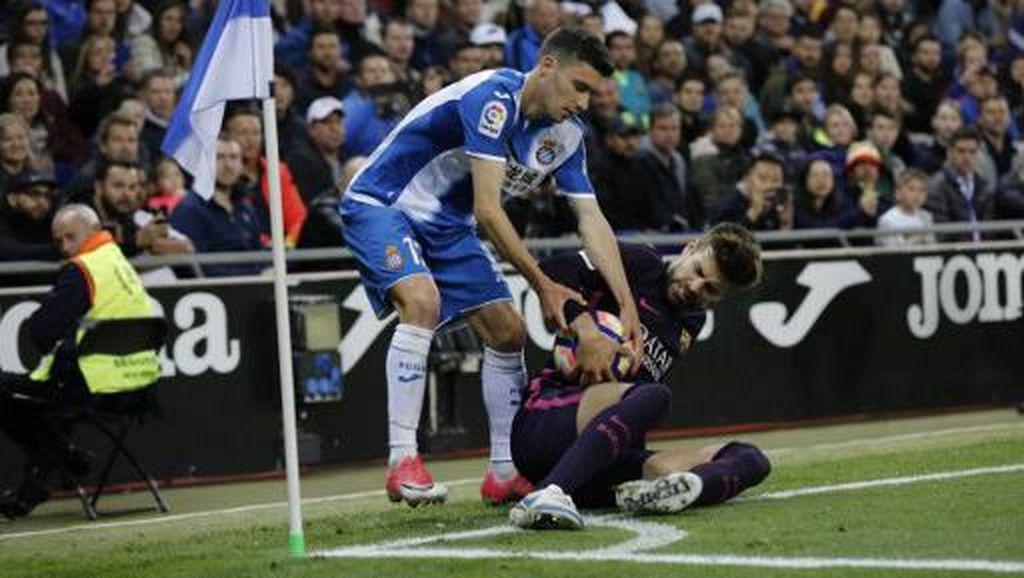 Pique Paling Senang Ketika Main di Kandang Espanyol dan Madrid