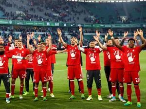 Pesta Bayern di Markas Wolfsburg: Lambaian Lima Jari dan Mia 5an Mia