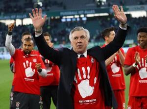 Bayern Juara, Ancelotti Puji Skuat Bavaria