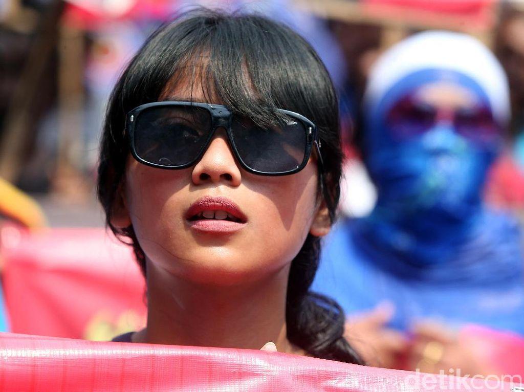 Begini Gaya Buruh Perempuan di Aksi May Day