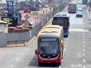 TransJakarta Beroperasi Mulai 09.00 WIB Saat Lebaran