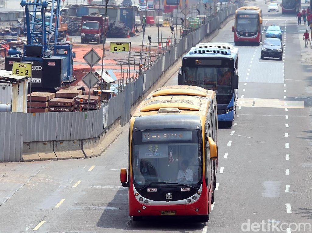 Hari Buruh, Sejumlah Rute TransJakarta Diperpendek