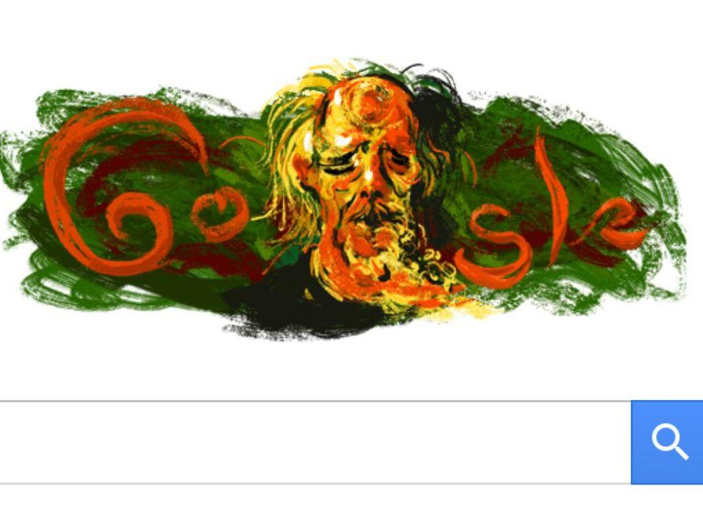 Google Mengenang Pelukis Ternama Affandi