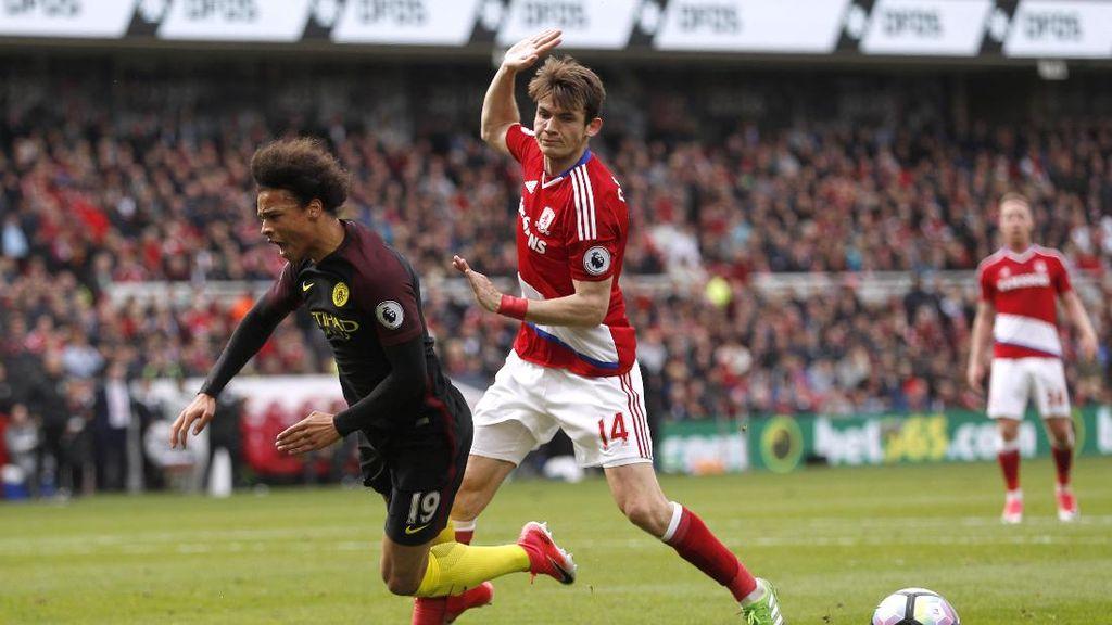 Manajer Middlesbrough: Pemain City Gampang Banget Jatuh