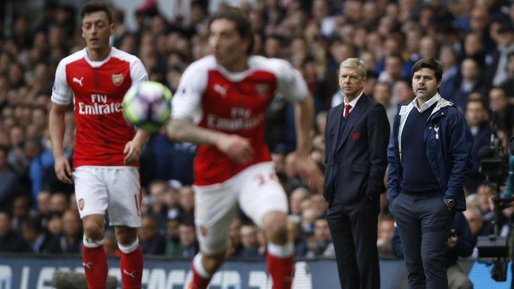 Arsenal Tak Pernah Punya Target Finis di Atas Spurs
