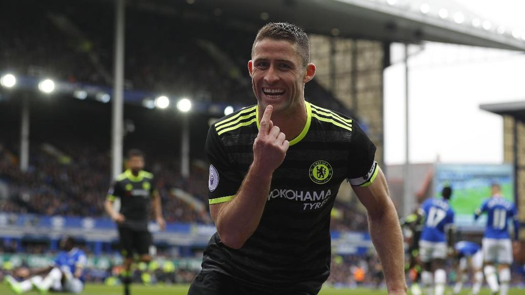 Chelsea Kalahkan Everton, Cahill: Ini Seperti Laga Final
