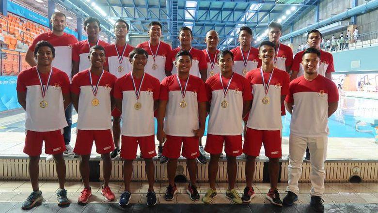 Timnas Polo Air Putra Juara di Taipei