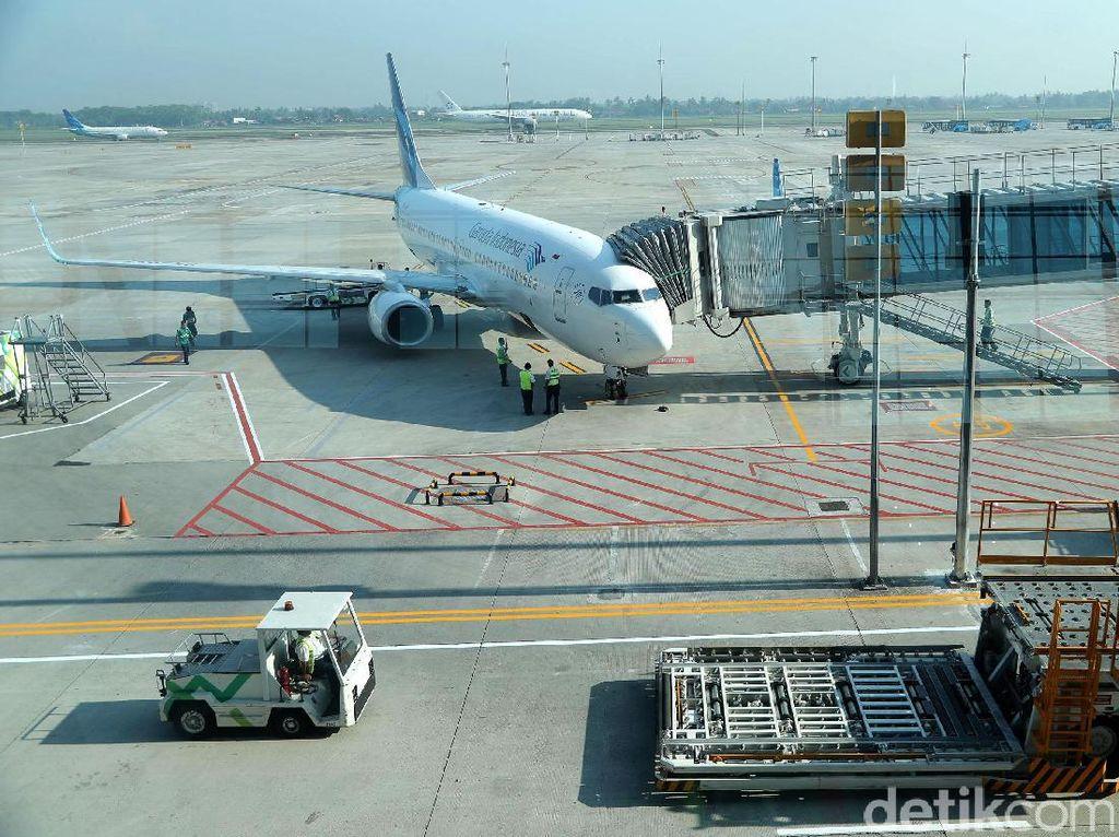 Penerbangan Internasional Perdana Garuda dari Terminal 3