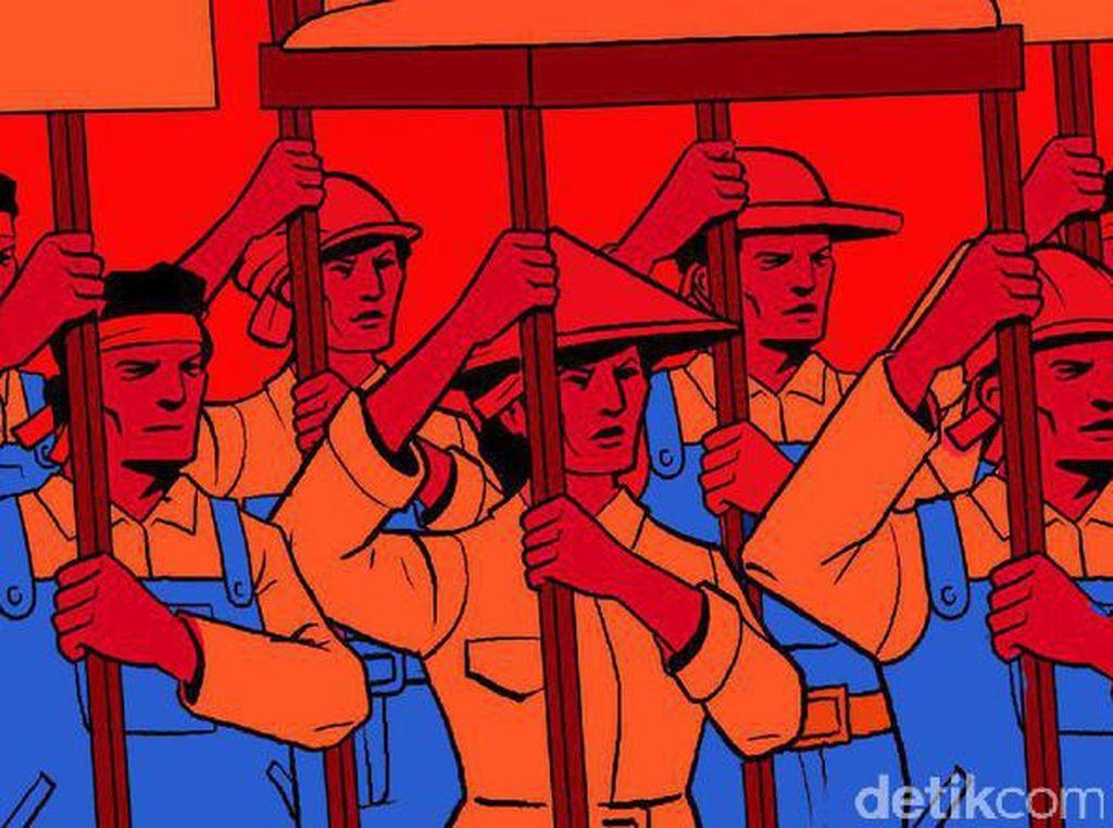 Serikat Buruh di Jabar Tetap Akan Bersuara Saat May Day