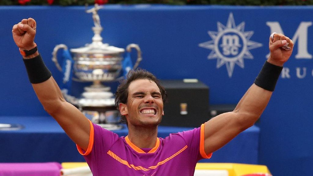 Nadal Rebut Titel ke-10 Barcelona Terbuka