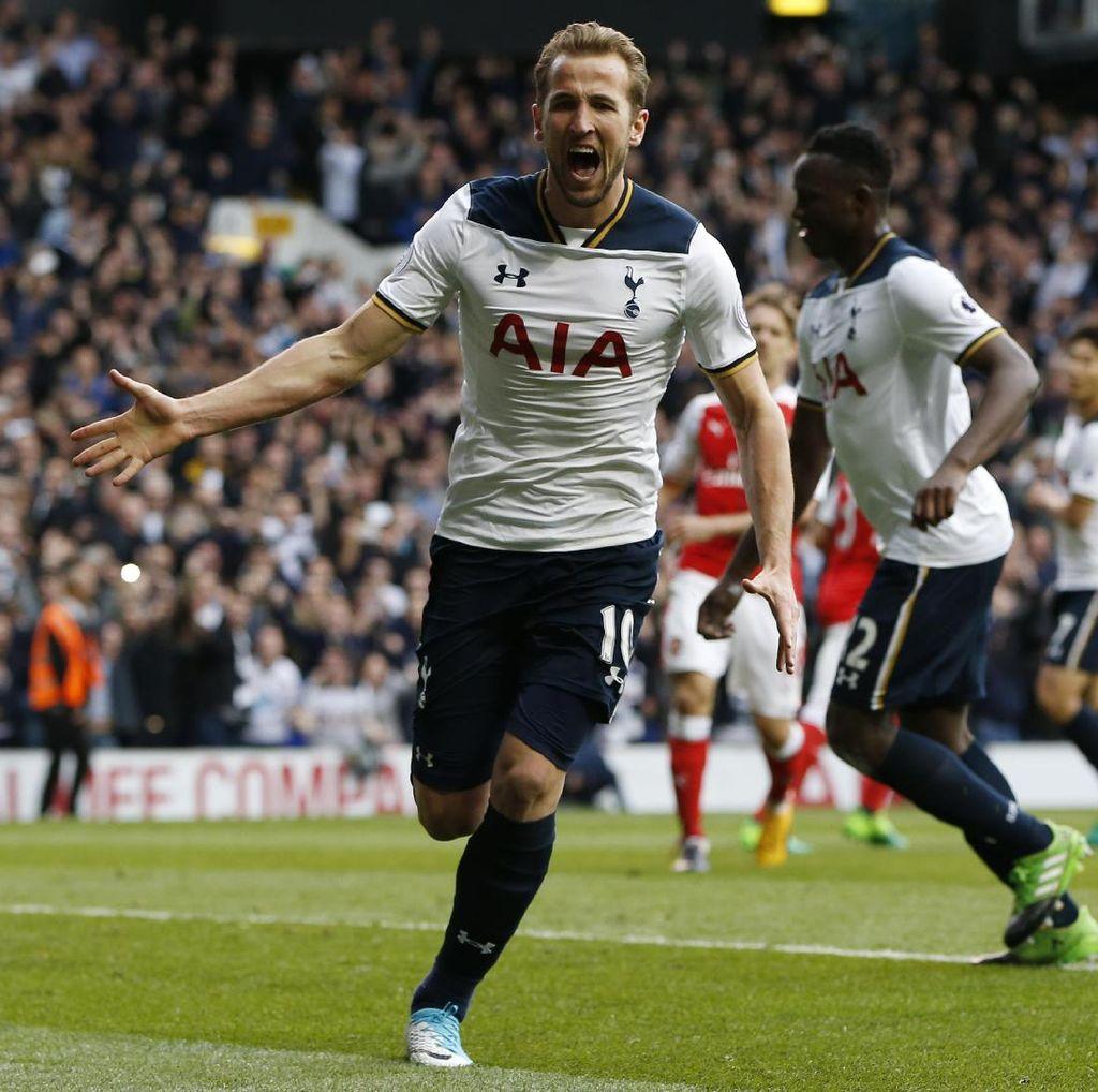 Spurs Bekap Arsenal, Kane Lampaui Bale