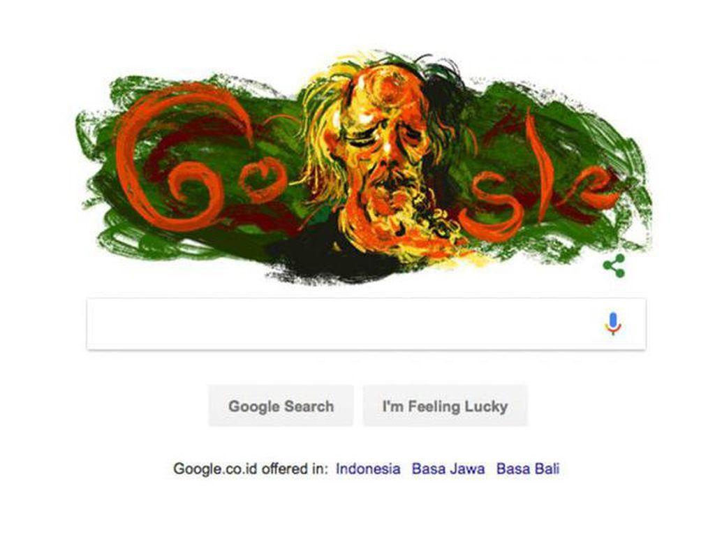 Mari Rayakan Kelahiran Affandi di Google Doodle di Hari Buruh