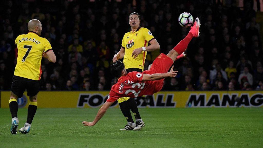 Gol Indah Emre Can Menangkan Liverpool