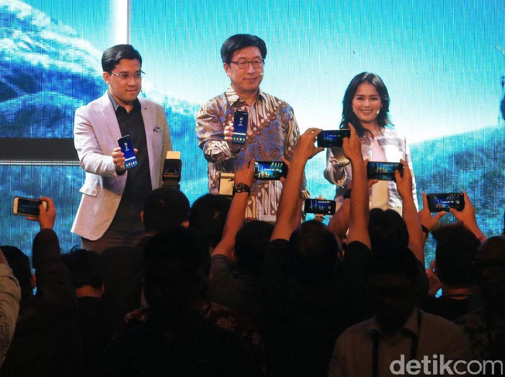Galaxy S8 dan S8+ Melenggang di Indonesia