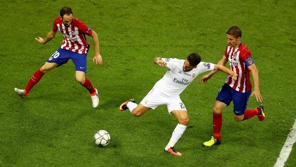 Kemenangan Madrid Atas Atletico di Milan Masih Membekas di Benak Isco