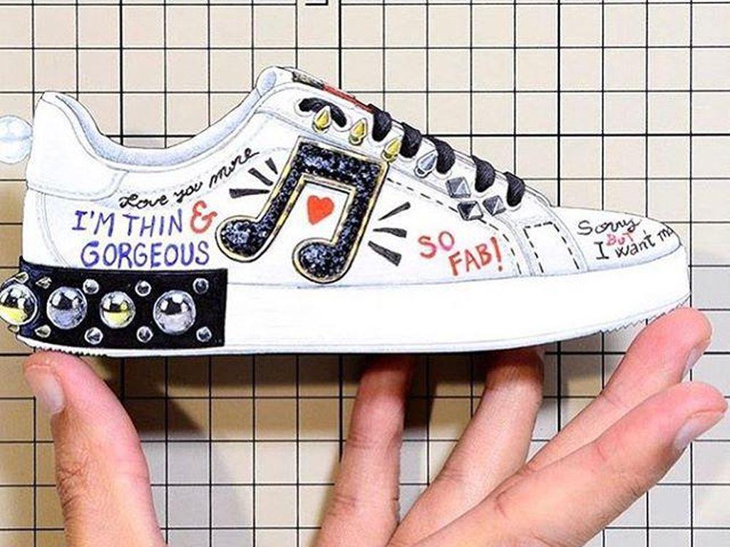 Desain Sepatu Dolce & Gabbana Dikritik Karena Menyudutkan Orang Gemuk