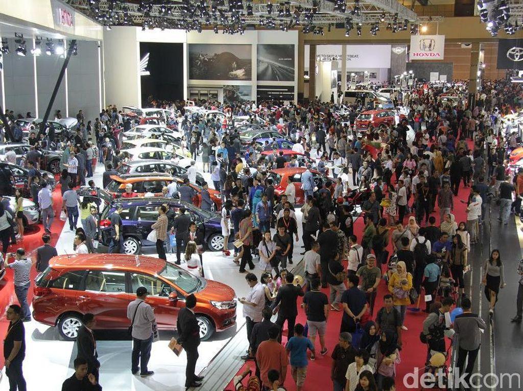 9 Hari IIMS, 7.000an Mobil Ludes Terjual