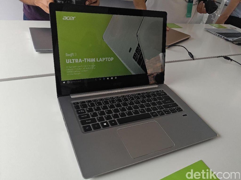 Acer Swift 3 Pamer Desain Seksi