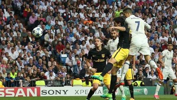 Madrid Sementara Memimpin 1-0 atas Atletico