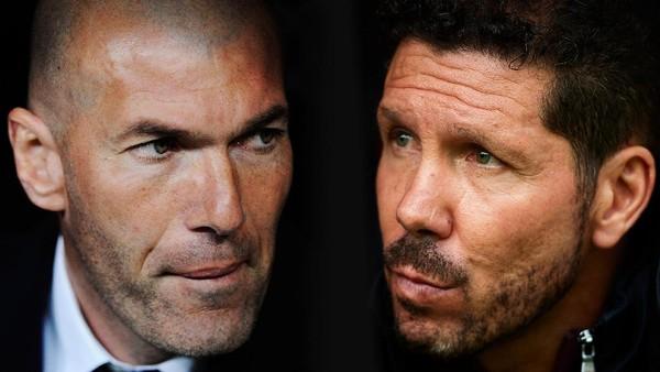 Adu Taktik, Rencana Simeone, dan Respons Tepat dari Zidane