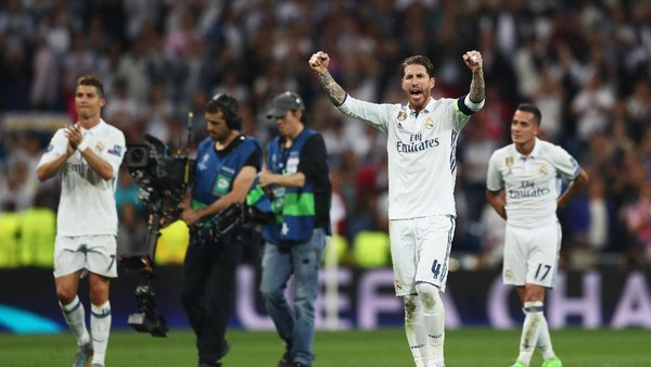 Ramos: Real Madrid Sudah Janjian dengan Sejarah