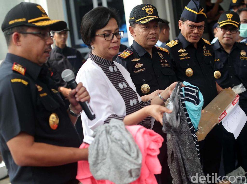 Dalam 4 Bulan, 465 Penyelundupan Tekstil Digagalkan Bea Cukai