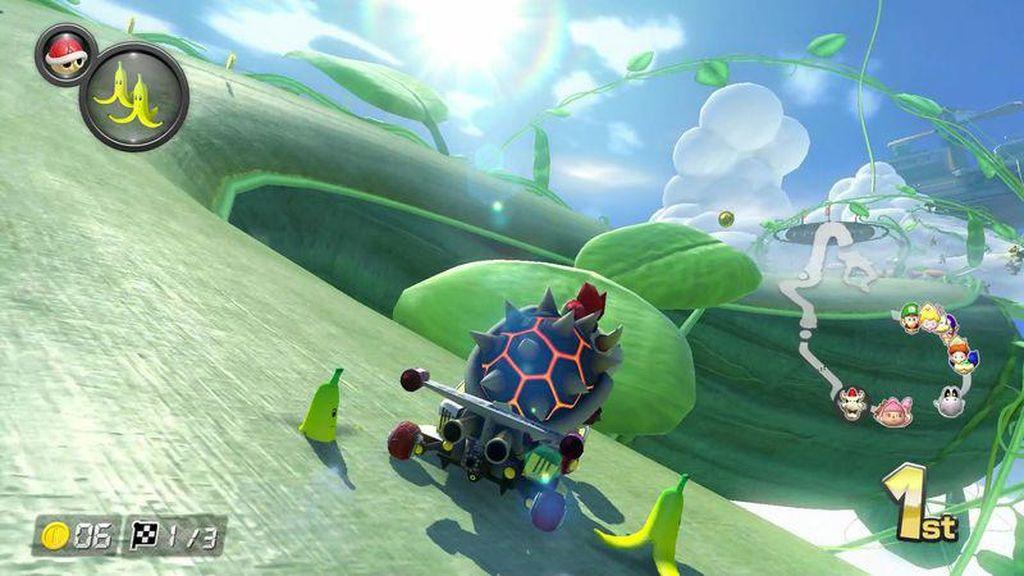 6 Tips Asyik Bermain Mario Kart 8 Deluxe