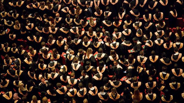 Ilustrasi lulus kuliah (Pexels/Pixabay)