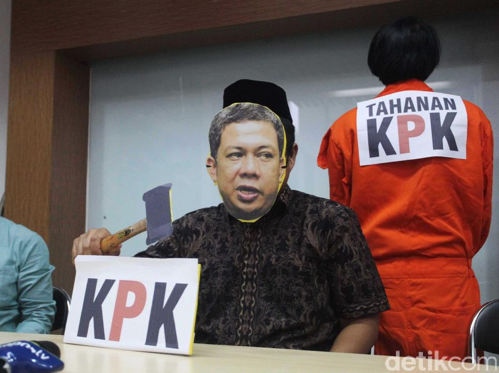 ICW: Pernyataan Fahri Hamzah Persis Calon Tersangka KPK yang Kepepet