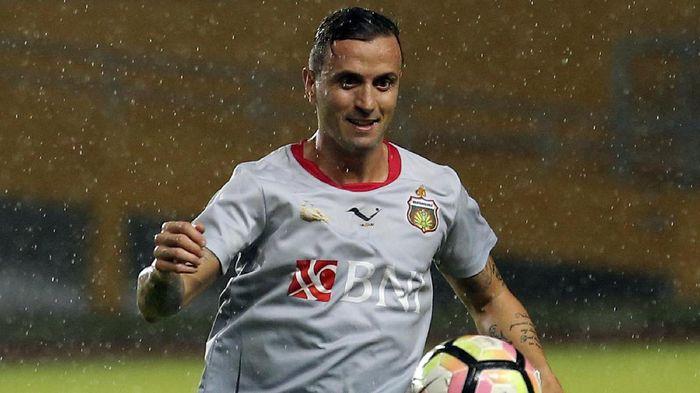 Paulo Sergio meninggalkan Bhayangkara FC di akhir musim ini (ANTARA FOTO/Nova Wahyudi)