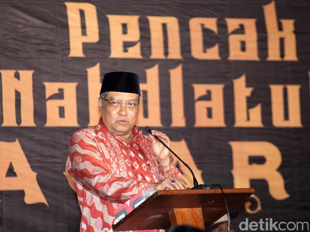 Ketum PBNU Said Aqil Dipanggil Jokowi ke Istana