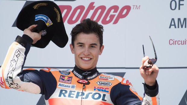 Marc Marquez merupakan juara bertahan MotoGP Amerika.